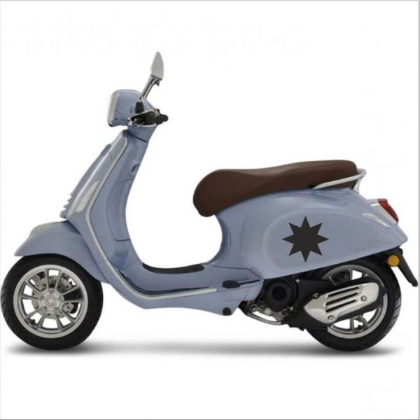 ster sticker scooter model 2