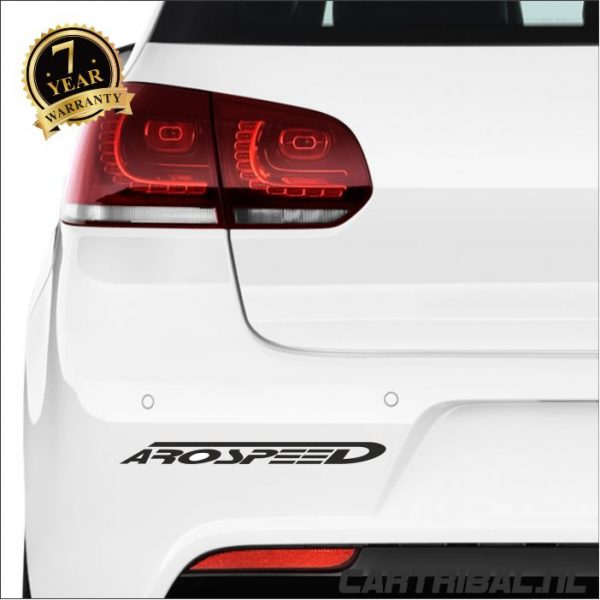arospeed logo sticker