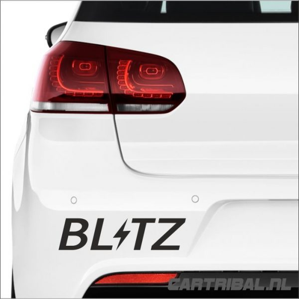 blitz logo sticker