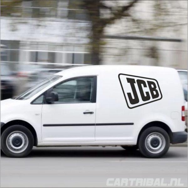 jcb logo sticker