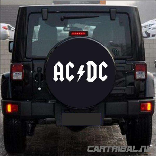 acdc logo sticker