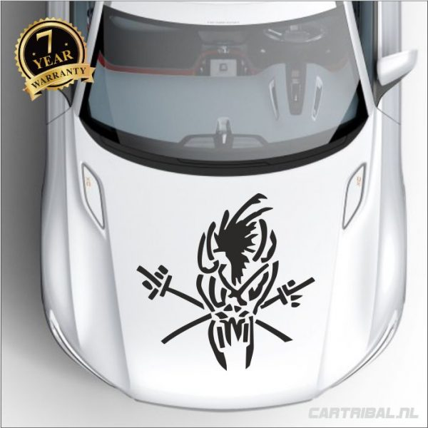 metallica logo sticker 2