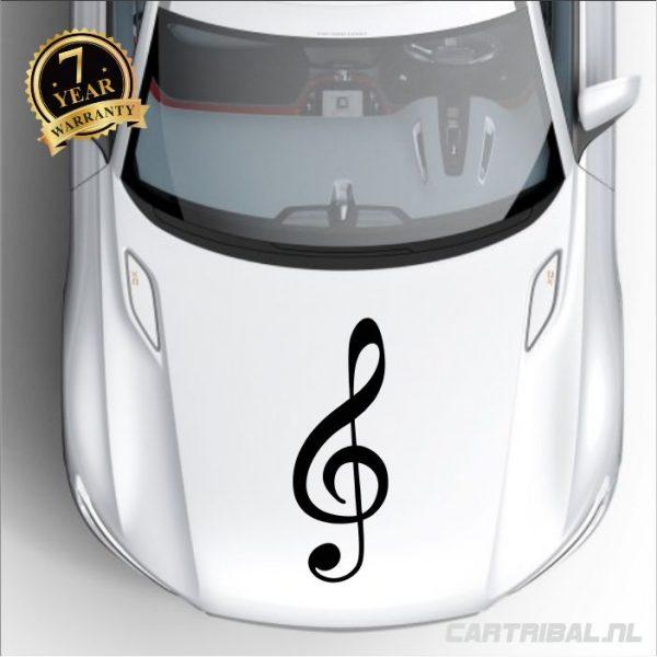 muzieknoot sticker model 3