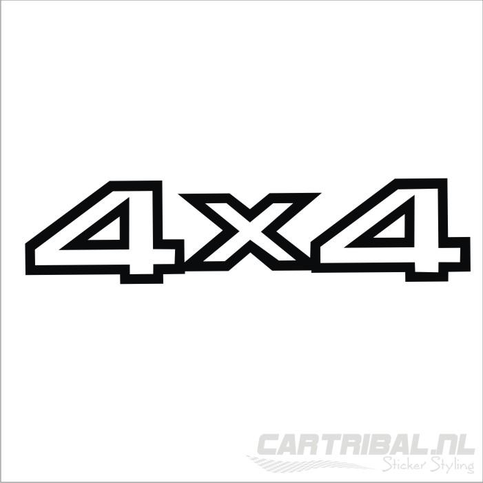 4 u00d74 offroad sticker model 5  u2013 cartribal nl sticker styling