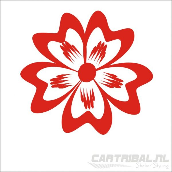 bloemen sticker model 2