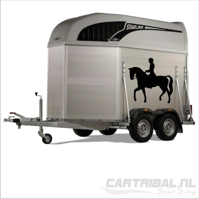 Paard Sticker Model 24 Cartribal Nl Sticker Styling