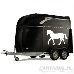 sticker paard