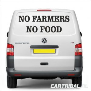 no farmers no food sticker