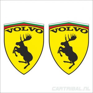 volvo moose eland sticker