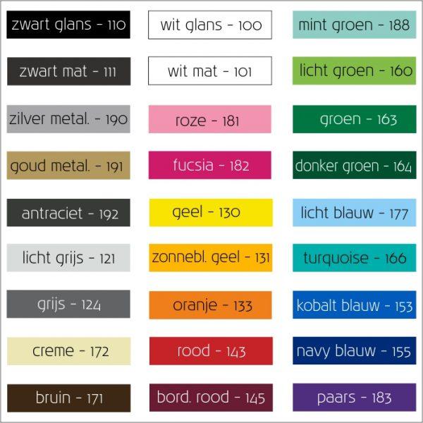 cartribal kleuren